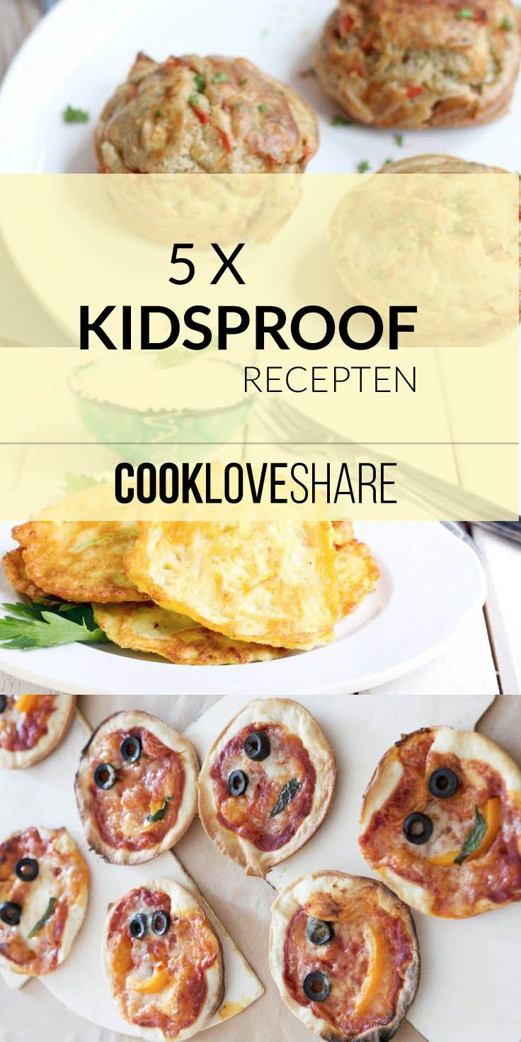 5x kidsproof recepten #kids #healthy #yummy #food