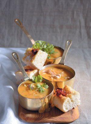 Curry Chicken & Sweet Potato Soup #food #recipe