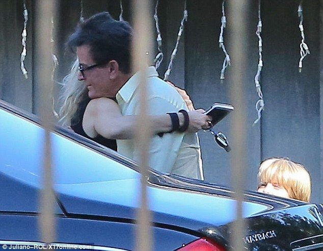 Mueller is Sheen's third wife and the mother of his two youngest children, Bob and Max. Sheen has five children in total