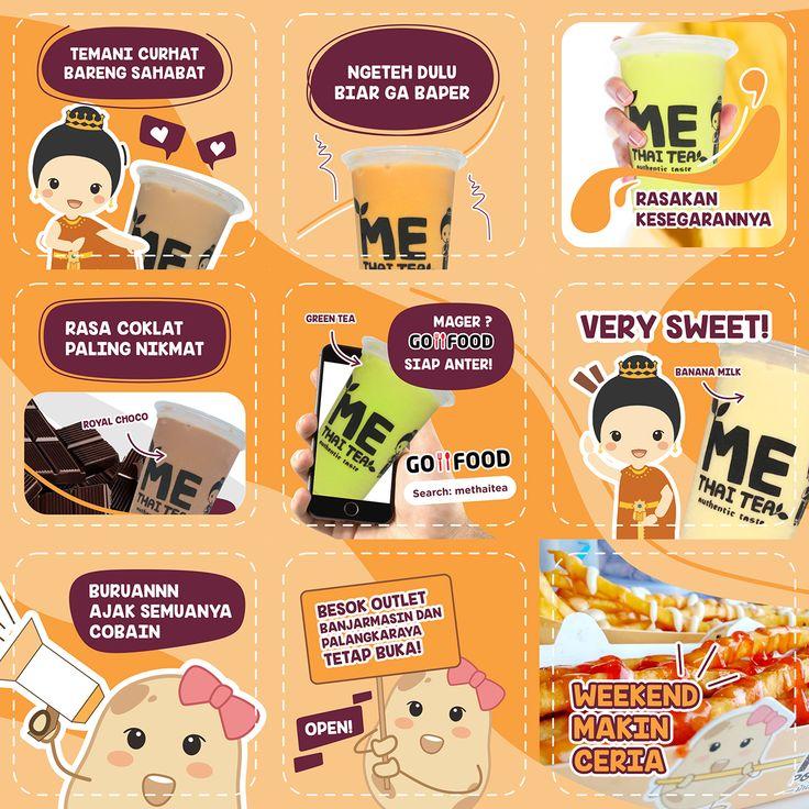Instagram Banner Ads - Me Thai Tea x Me Potato on Behance ...