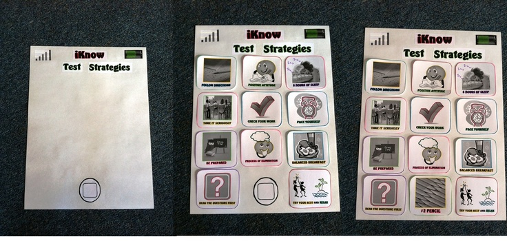 """""""iKnow"""" Test-Taking Skills Classroom Guidance Lesson with printable resources 