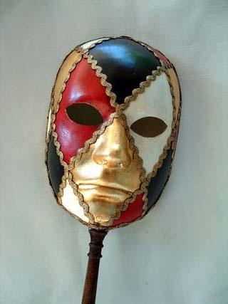Si Lucia Full Face Colors Stick Mask. Biggs Ltd. Gallery. Price $87. 1-800-362-0677.