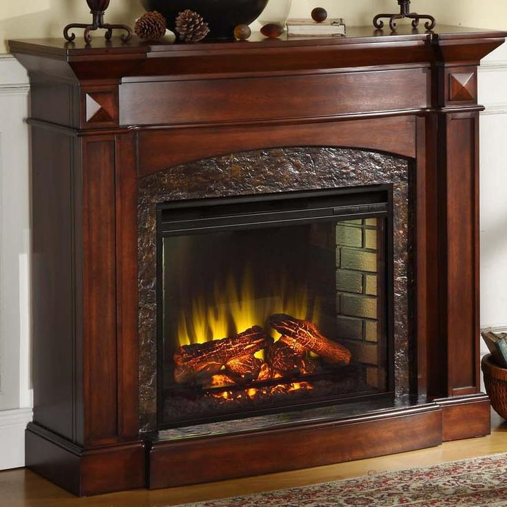 Shop For The Elements International Occasional Accents Elements Fireplace/TV  Stand At Miskelly Furniture   Your Jackson, Mississippi Furniture U0026  Mattress ...