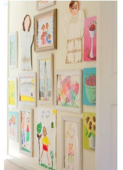Decoraci n paredes de habitaciones infantiles a - Paredes con dibujos ...