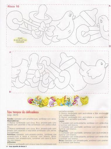 Apostila de Riscos 03 Bebê coleção Susy pintura - Adriana Geraldo - Álbuns da web do Picasa