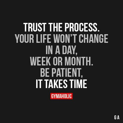 Inspirational Quotes About Motivation: Trust The Process...
