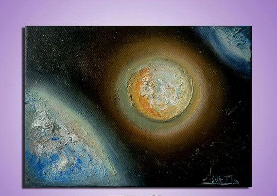 Modern abstract painting. Original Oil painting by artstudioAreti