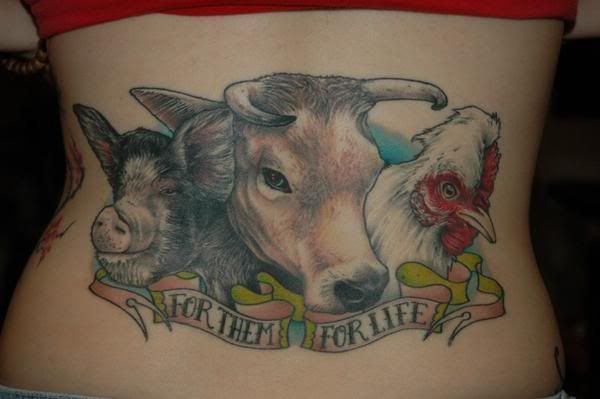 farm animal tattoos | ... and Too Much Crap!: 20 WTF Redneck Tattoos... Now That's Pride