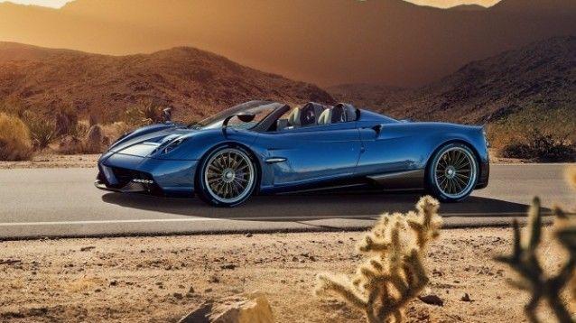 Pagani Huayra Roadster, la supercar bella e sfrontata come Gilda