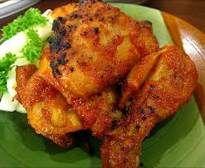 Resep Ayam Panggang Bumbu Rujak dan cara membuat | BacaResepDulu.com