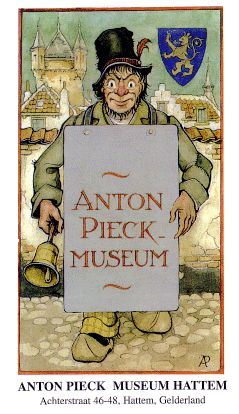 Visit the lovely Anton Pieck museum in Hattem, the Netherlands.