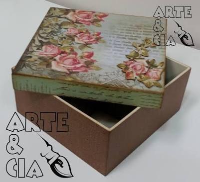 caixas de mdf decoradas com stencil - Pesquisa Google