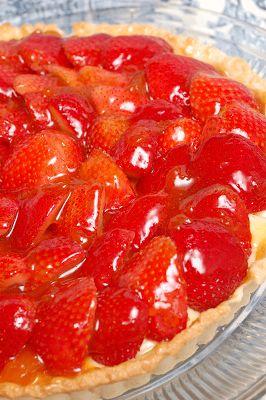 Sugar & Spice by Celeste: A Fresh Strawberry Tart from Julia Child!
