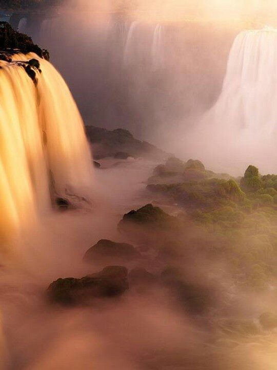 iguazu falls- most beautiful & breathtaking place I've EVER been to.