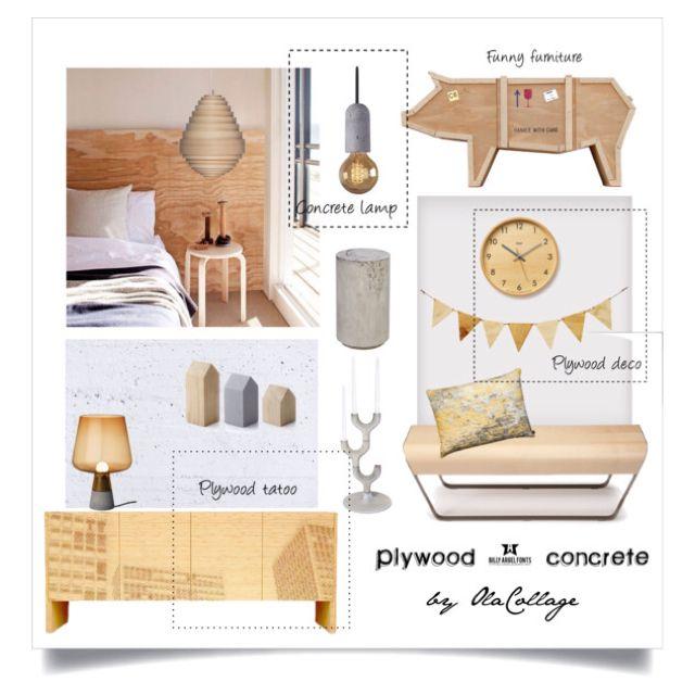 Plywood&concrete