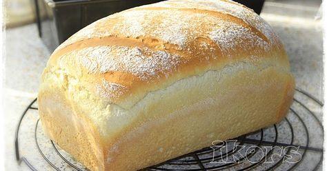 Soft Sandwich Brot 340 g Wasser 10 g Trockenhefe 20 g Zucker 3 Min./37°/St.1 500 g Mehl 550er 2 TL Salz 50 g we...