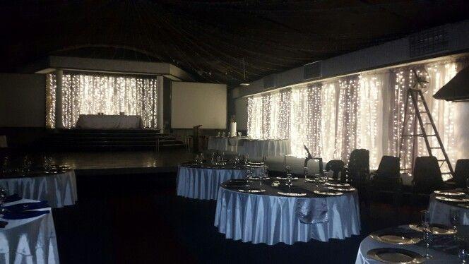 Prep for wedding at Rafiki Venue