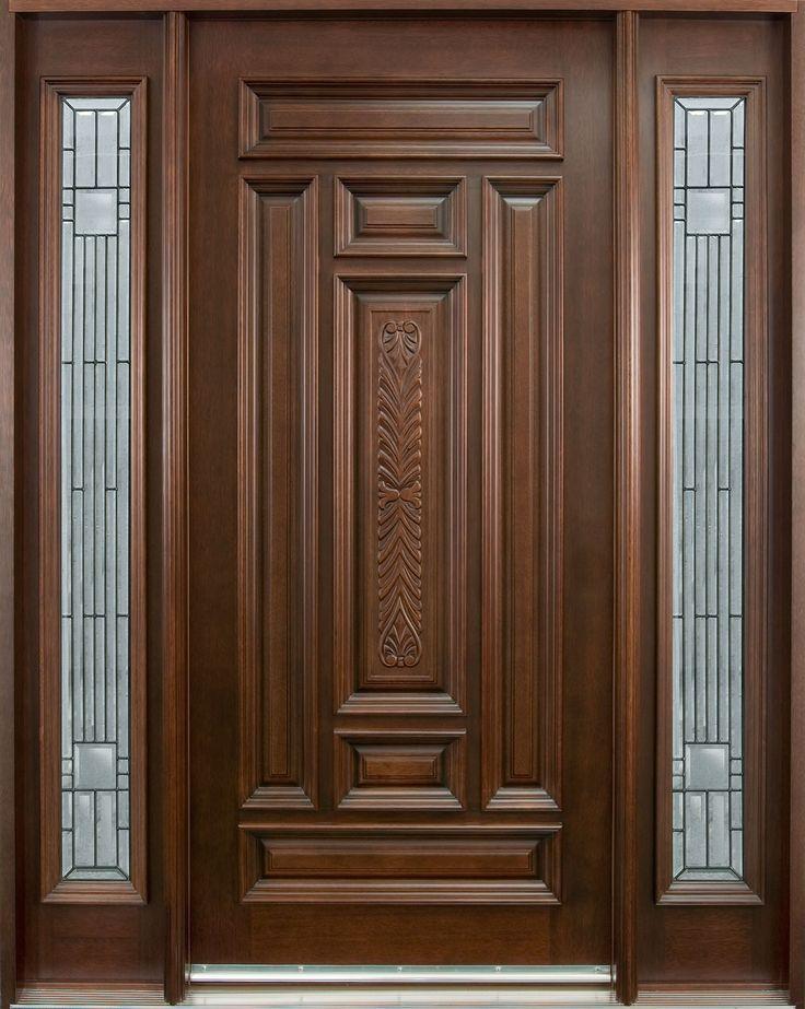 Front Entrance Doors Type & Best 25+ Single door design ideas on Pinterest | Single doors ... pezcame.com