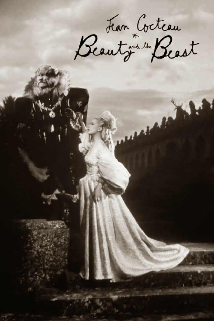 """La Belle et la Bête"" (Beauty and the Beast) by Jean Cocteau , 1946~My favorite to put on when I'm working in my studio."