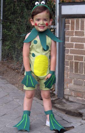 Disfraz Ranita casero- Frog costume