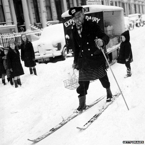 Cold weather reached the UK on 22 December 1962. Snow fell across Scotland on Christmas Eve before sweeping south. The Arctic weather didn't relent until March 1963.