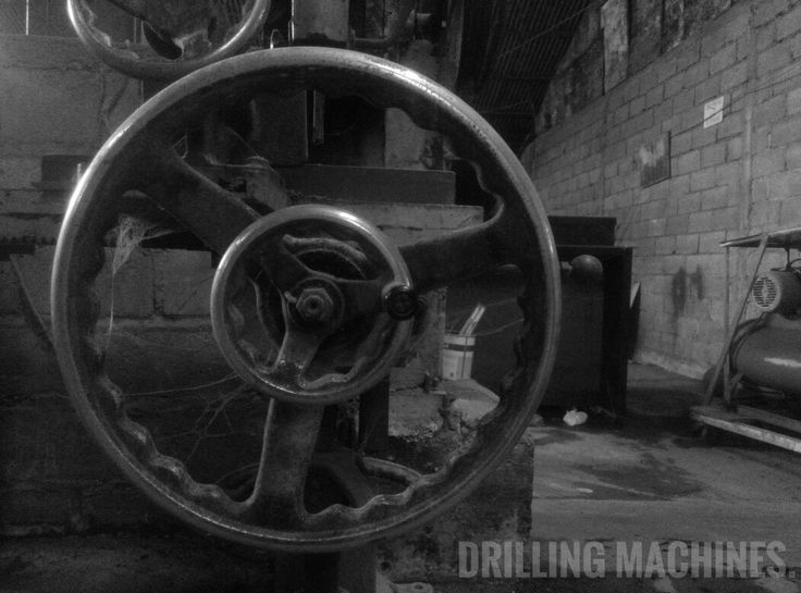 DRILLING MACHINE [noun] Is a machine for drilling, reaming, counterboring, and tapping holes;especially :  a power machine for drilling holes in metal (as a drill press or radial drill)