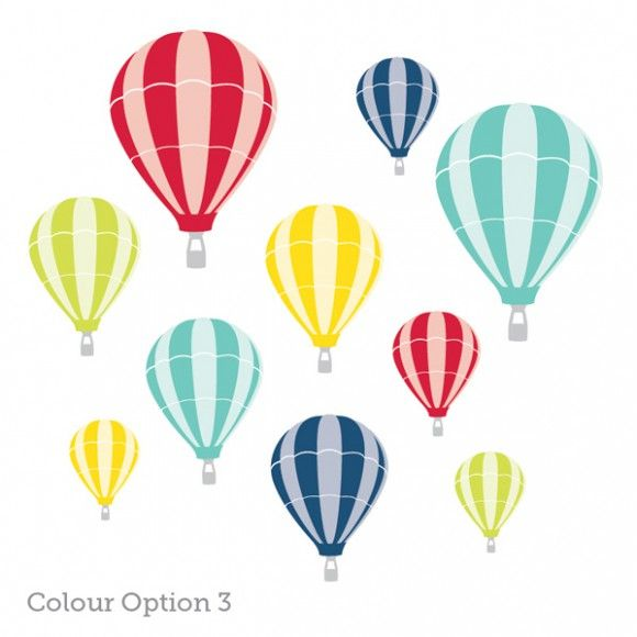 Hot Air Balloon Wall Stickers | 41 Orchard