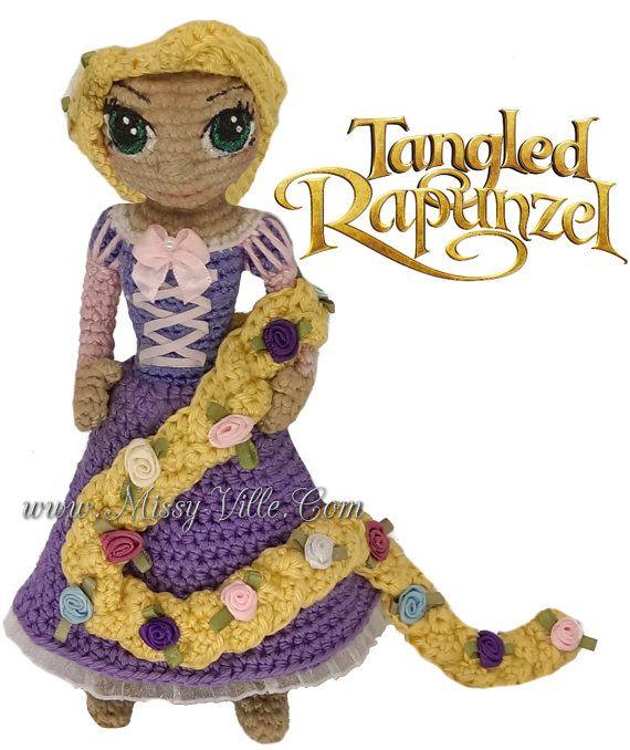 38 best Princesas Disney amigurumi images on Pinterest | Juguetes de ...
