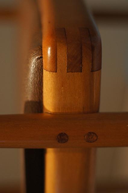 January: DETAIL (Sam Maloof Chair)