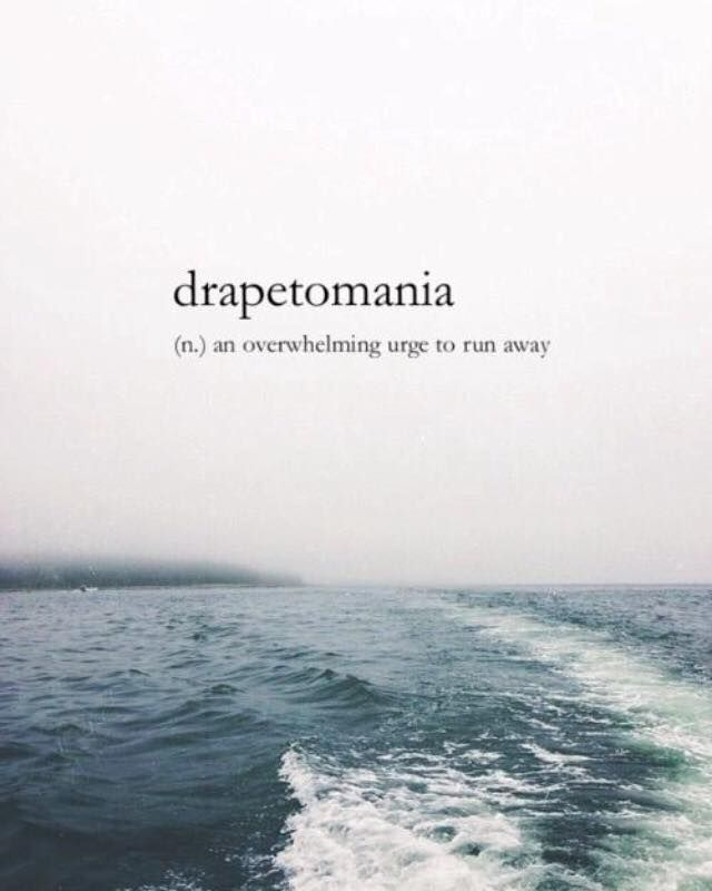 A Greek Word For Escapism