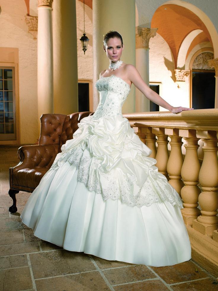 подписанные фото свадебных платьев напала