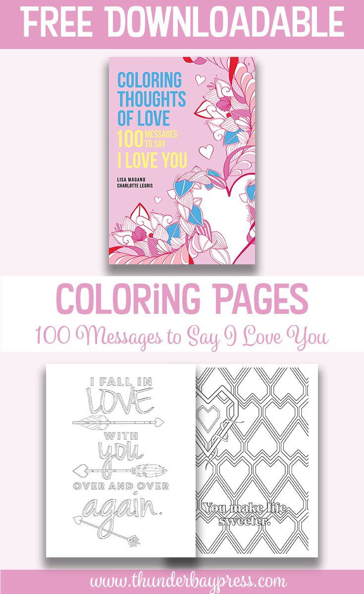 Free printable coloring pages that say i love you - Download Valentine S Day Coloring Pages Color Create Relax
