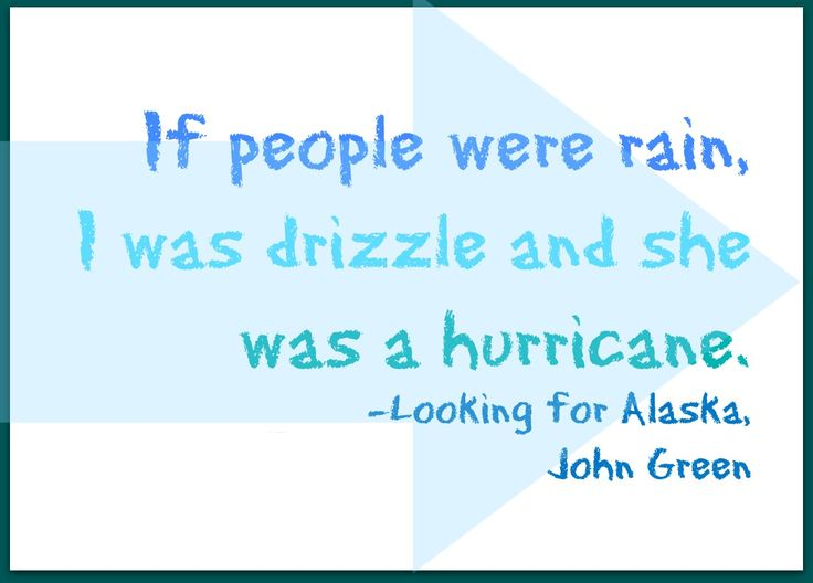 Looking For Alaska Hurricane Quote: Pin By East Rockaway On Teen Reads