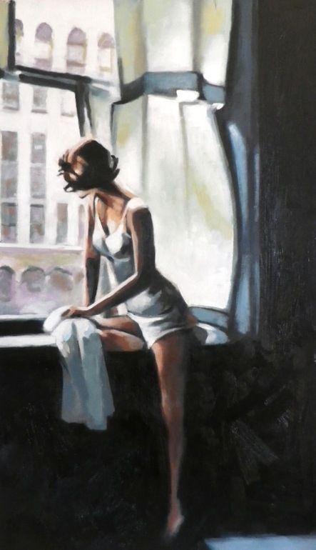 "Thomas Saliot ""City window light"""