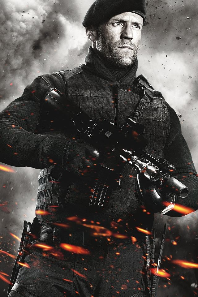 "THE EXPENDABLES 2 - ""LEE CHRISTMAS"" - JASON STATHAM"