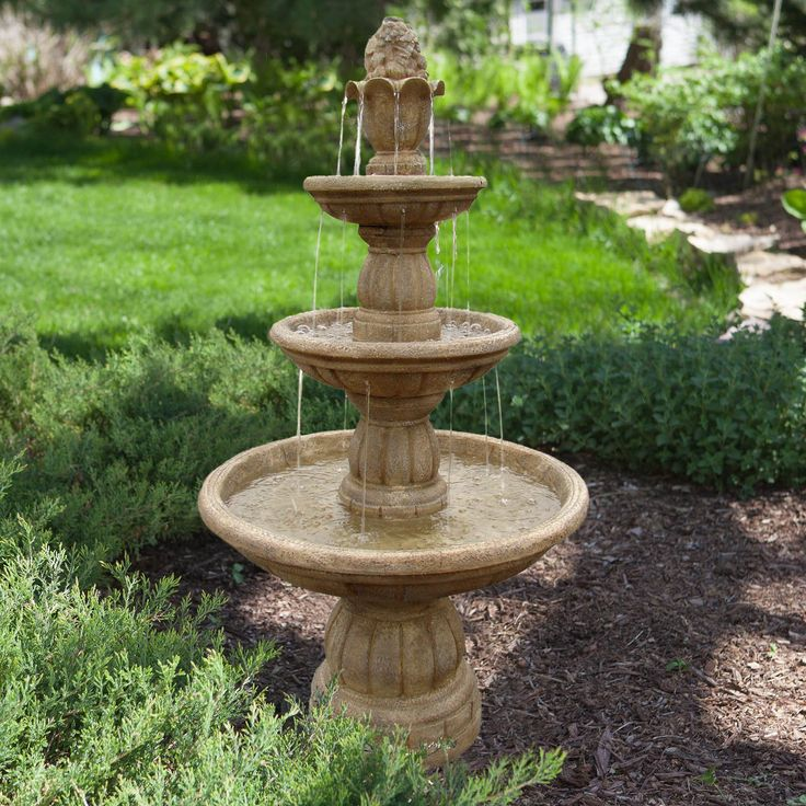 Best 25 outdoor fountains ideas on pinterest outdoor for Spanish style fountains for sale