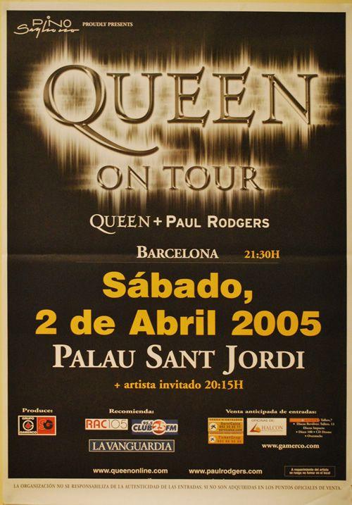 QUEEN, Barcelona 2005