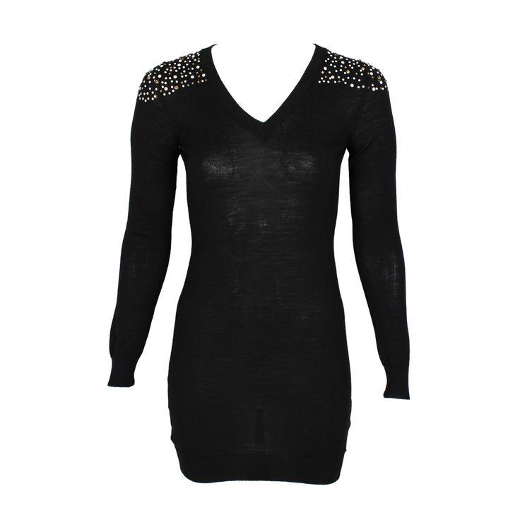 #galliano #johngalliano #marinamall #greenbird #couture #abudhabi #abudhabistyle #abudhabifashion #abudhabistyle #dubai #dubaifashion #dubaistyle #womenswear #fall2013 #winter2014 #fw2014 #prefall #dress #eveningdress #eveningwear #cocktaildress #vneck #studdeddress #shortdress #longsleeveddress