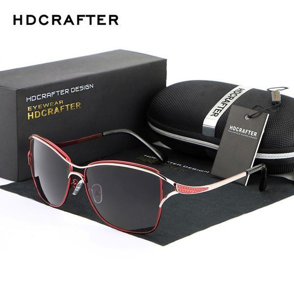 Designer Cat Eye Style Polarized Sunglasses