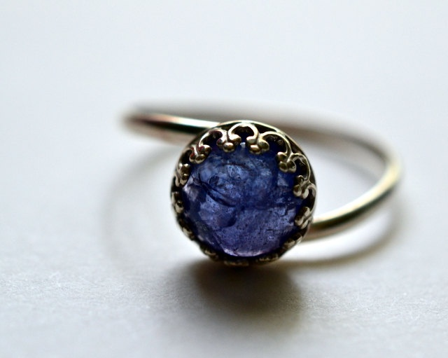 beautiful natural tanzanite stone - I WANT THIS love love love