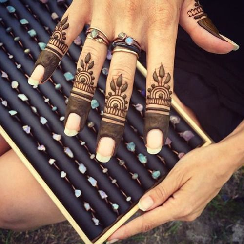 You can find here a collection of henna designs from various artists. Use the submit link below to...