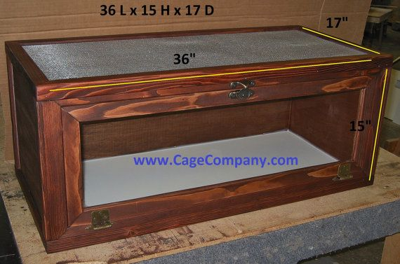 REPTILE CAGES  escape proof bearded dragons snakes by CageCompany, $179.00