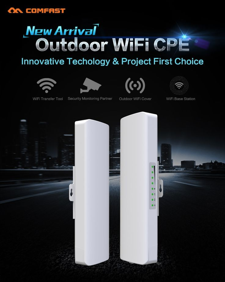 (41.80$)  Watch more here  - Comfast 150M Wireless outdoor CPE Signal booster amplifier CF-E214N 14dBi antenna WIFI repeater router access point Nanostation