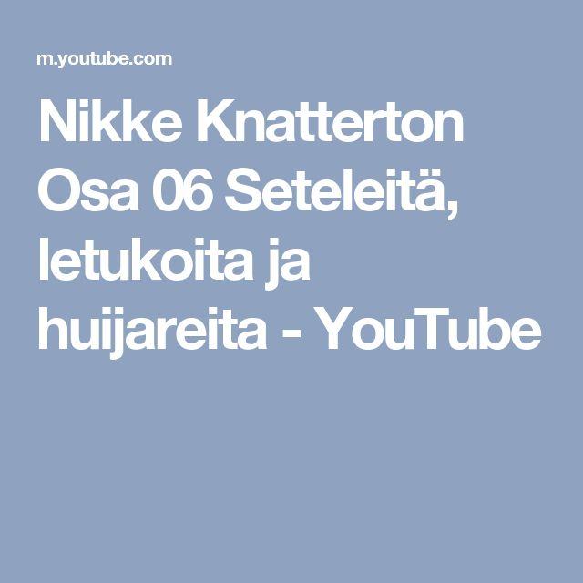 Nikke Knatterton Osa 06   Seteleitä, letukoita ja huijareita - YouTube