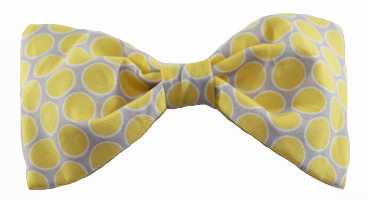 Yellow Dog Bow Tie - Bow Tie for Dogs - Detachable bow tie - Removable dog bow tie