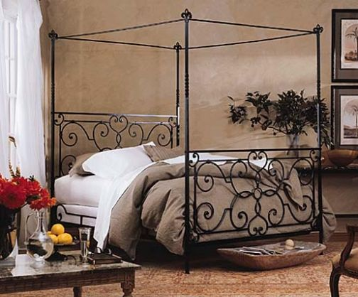 3 299 Florentine Canopy Bed Iron Beds Charles P