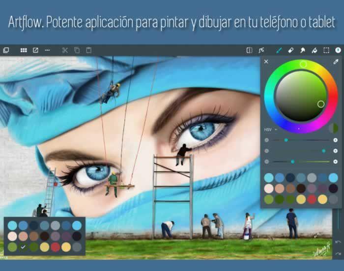 Artflow Potente Aplicacion Para Pintar Y Dibujar En Tu Telefono O Tablet Apps Artedigital Aplicaciones Para Pintar Dibujos Para Pintar Dibujar En Tablet