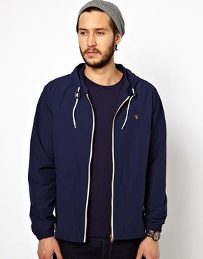 Farah Vintage Hooded Jacket $144.96