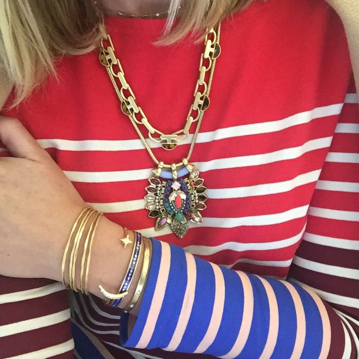 Crushin' on color. Meet York: our stunning new statement necklace launching in January! #stelladotstyle #sneakpeek