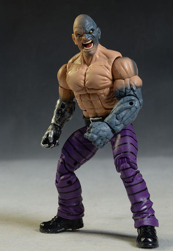 Ben Reilly Spider-Man, Spider-Gwen, Absorbing Man, Venom Marvel Legends action figures by Hasbro